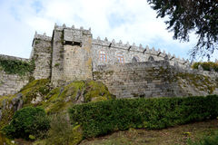 Soutomaior-Schloss, Pontevedra, Galizien, Spanien Lizenzfreie Stockfotografie
