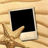 Foto eines im altem Stil verzierten Starfish Lizenzfreies Stockfoto