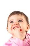 Foto eines jungen Kleinkindes stockbilder