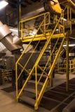 Industriegebäudeinnenraum Lizenzfreies Stockbild