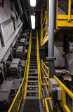 Industriegebäudeinnenraum Lizenzfreies Stockfoto