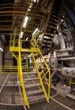Industriegebäudeinnenraum Stockfotos