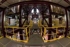 Industriegebäudeinnenraum Stockbilder