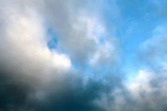 Foto eines schönen blauen Himmels Lizenzfreie Stockfotografie