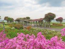 Foto eingelassenes Singapur Ostküsten-Park Singapur stockfoto