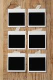 Foto em branco Imagens de Stock