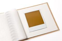 Foto em branco localizada na galeria Fotos de Stock