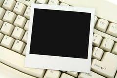 Foto en toetsenbord Stock Afbeelding