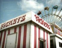 Foto envejecida y desgastada del carnaval Foto de archivo libre de regalías