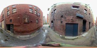 foto esférica equirectangular 360 de Seattle céntrica Washington imagen de archivo