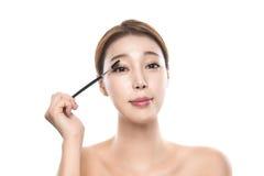 foto fêmea asiática nova da beleza do estúdio 20s - isolada Imagens de Stock Royalty Free