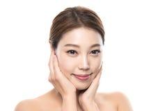 foto fêmea asiática nova da beleza do estúdio 20s - isolada Foto de Stock