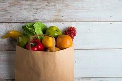 Foto för begrepp för livsmedelsbutikshopping arkivbild