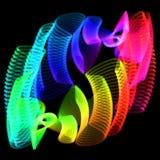 Foto för blommaspirographklockpendel arkivbilder