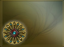 foto för orientering för bakgrundsdesignfractal Royaltyfria Bilder