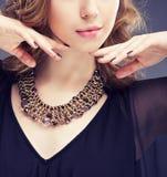 foto för smycken för konstskönhetmode arkivfoto