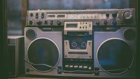 Foto för tappningradiomottagare royaltyfria foton