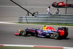 Foto F1: Mark Webber - materielfoto för formel en Arkivbilder