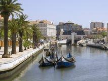 Foto fatta nel Portogallo, Aveiro Fotografie Stock Libere da Diritti
