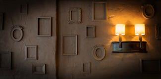 Foto-Felder auf einem rauen Grungy Hintergrund Lizenzfreie Stockbilder