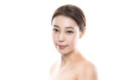 foto femenina asiática joven de la belleza del estudio 20s - aislada Foto de archivo libre de regalías