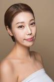foto femenina asiática joven de la belleza del estudio 20s - aislada Fotografía de archivo