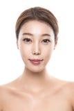 foto femenina asiática joven de la belleza del estudio 20s - aislada Imagen de archivo