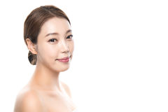 foto femenina asiática joven de la belleza del estudio 20s - aislada Imágenes de archivo libres de regalías