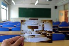 Foto in foto Royalty-vrije Stock Afbeeldingen