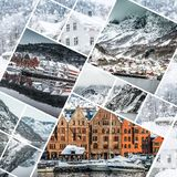 Foto från Bergen Royaltyfria Bilder