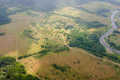 Foto från en höjd av 600 meter Royaltyfria Foton