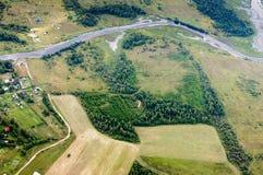 Foto från en höjd av 600 meter Royaltyfri Foto