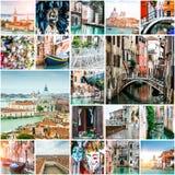 Foto från Venedig Arkivbilder