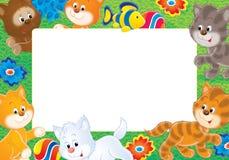 Foto-frame   Imagem de Stock