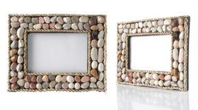 Foto-frame original na tabela Imagem de Stock Royalty Free