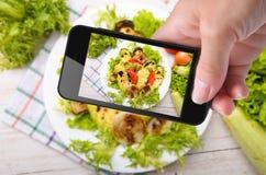 Foto gegrilltes Gemüse Stockfotografie