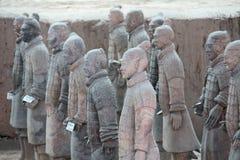 Foto hecha en China XIAN, CHINA -12 abril de 2012 - vista del Ter imagen de archivo libre de regalías