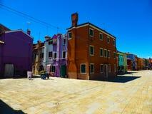 Foto hermosa de Murano - Venecia Italia fotos de archivo