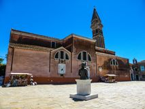 Foto hermosa de Murano - Venecia Italia imagen de archivo libre de regalías