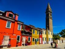 Foto hermosa de Murano - Venecia Italia imágenes de archivo libres de regalías