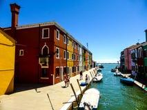 Foto hermosa de Murano - Venecia Italia imagenes de archivo