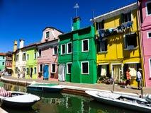 Foto hermosa de Murano - Venecia Italia fotografía de archivo libre de regalías
