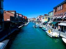 Foto hermosa de Murano - Venecia Italia foto de archivo