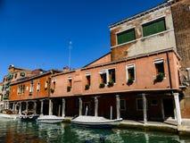 Foto hermosa de Venecia Italia foto de archivo