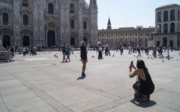 Foto i Milano Royaltyfri Fotografi