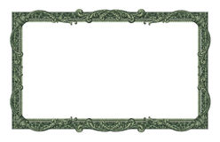 Pengar gränsar royaltyfri foto