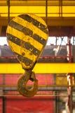 Foto industrial do close up do crain Imagem de Stock Royalty Free
