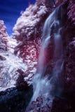 Foto infrarossa della cascata Immagine Stock Libera da Diritti