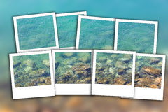 Foto inmediata 2 de la falta de definición limpia del mar Fotografía de archivo libre de regalías
