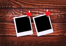 Foto inmediata en blanco fotos de archivo libres de regalías